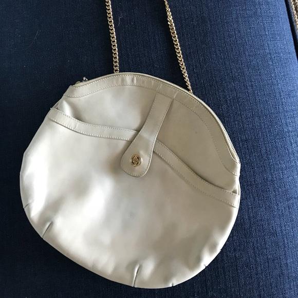 63e8bf3f3db07c Gucci Handbags - 1960s Vintage Gucci Cream Bag- RARE ❤️